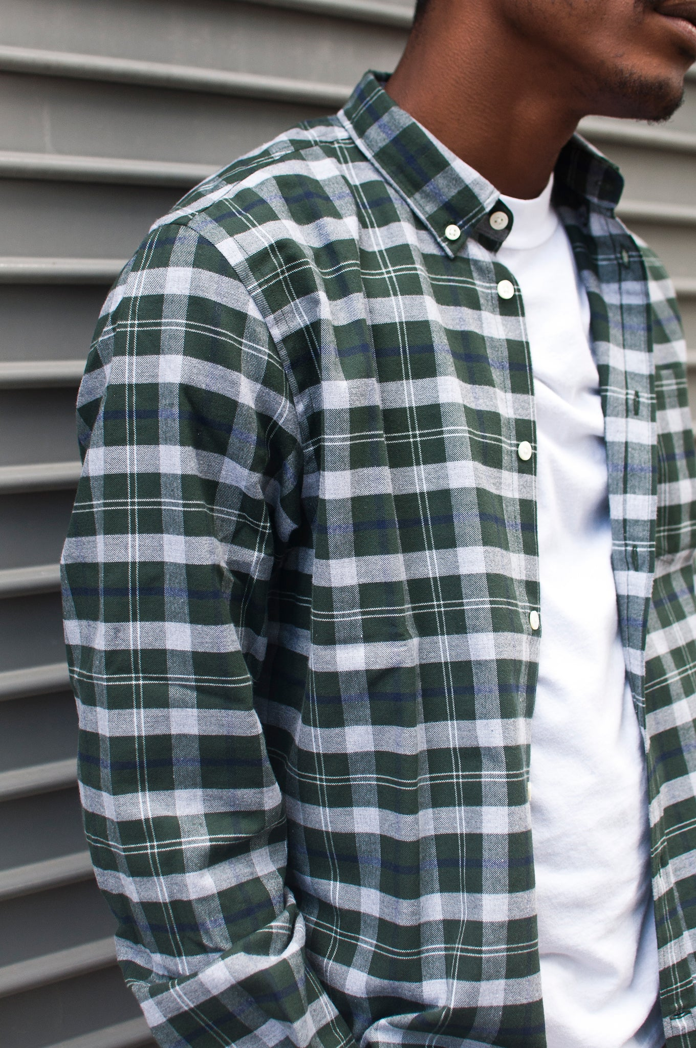 Norse Projects Anton Check Moss at shoplostfound
