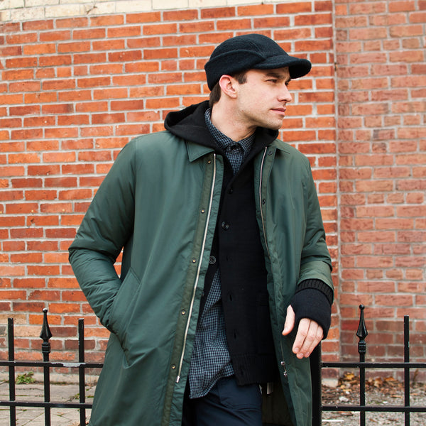 Norse Projects Thor Padded Nylon Moss at shoplostfound Preview