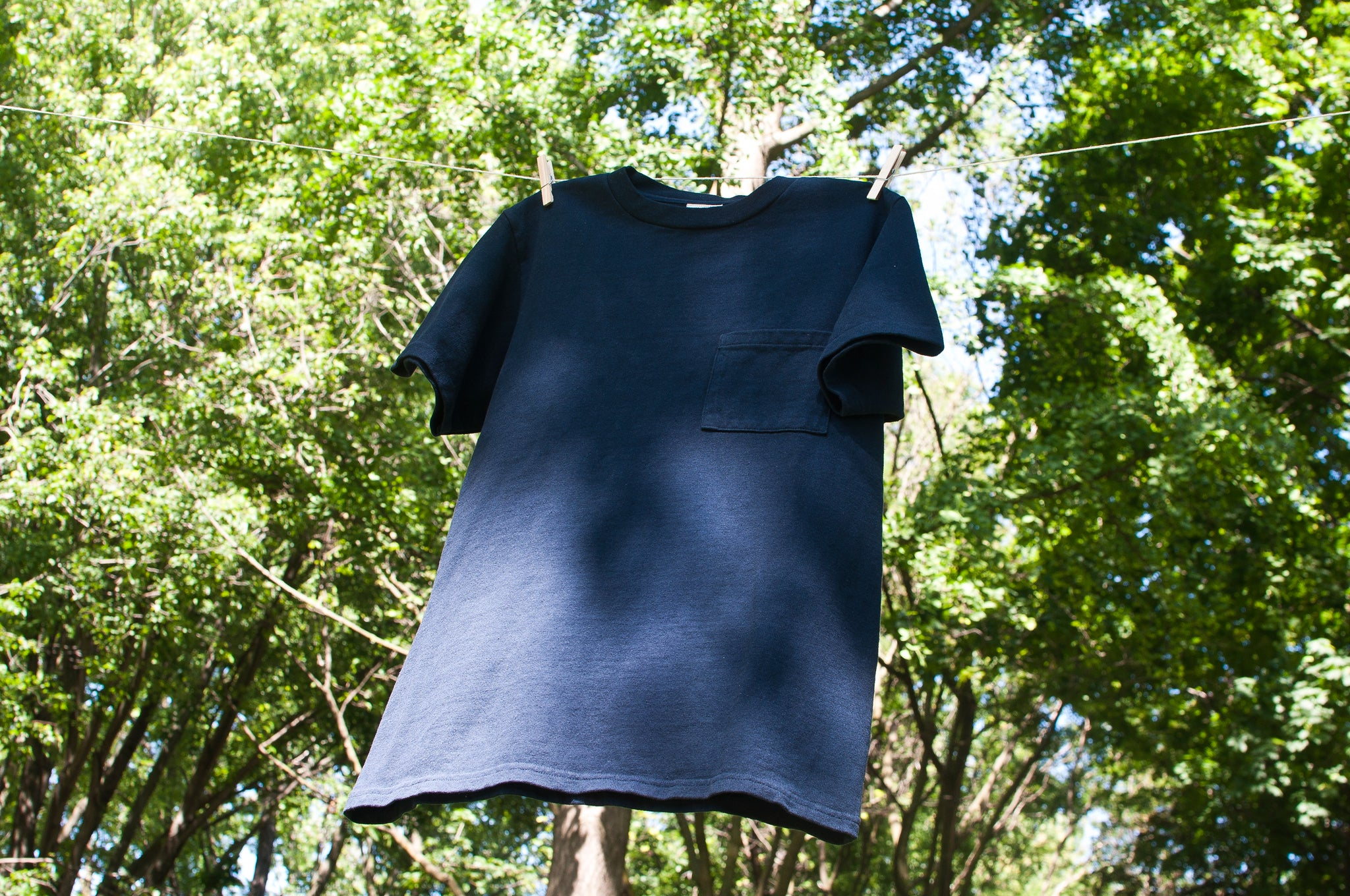PAA SS Pocket Tee Navy at shoplostfound