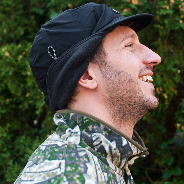 Patagonia Shelled Synchilla Duckbill Cap Black at shoplostfound, Preview