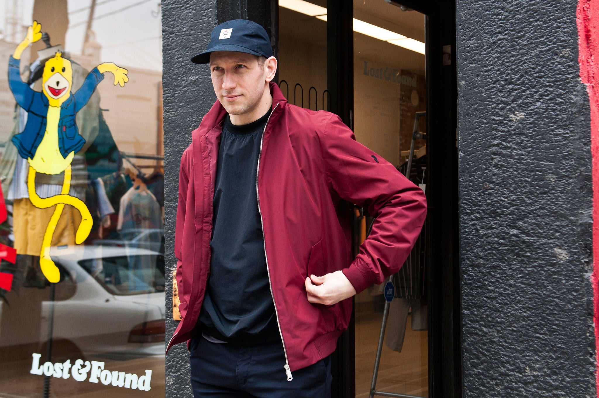 Peak Performance Blizzard Jacket Baked Red at shoplostfound 1