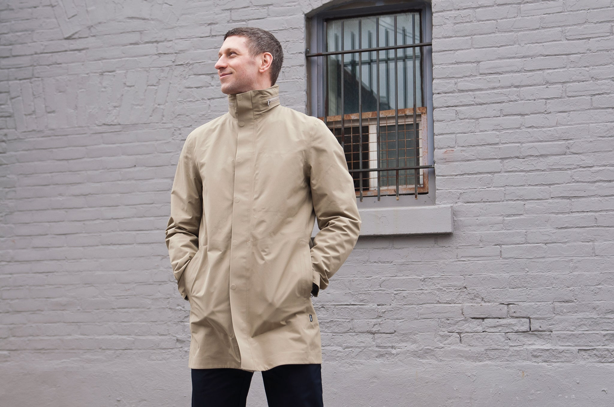 Peak Performance Parkes Coat True Beige at shoplostfound 1