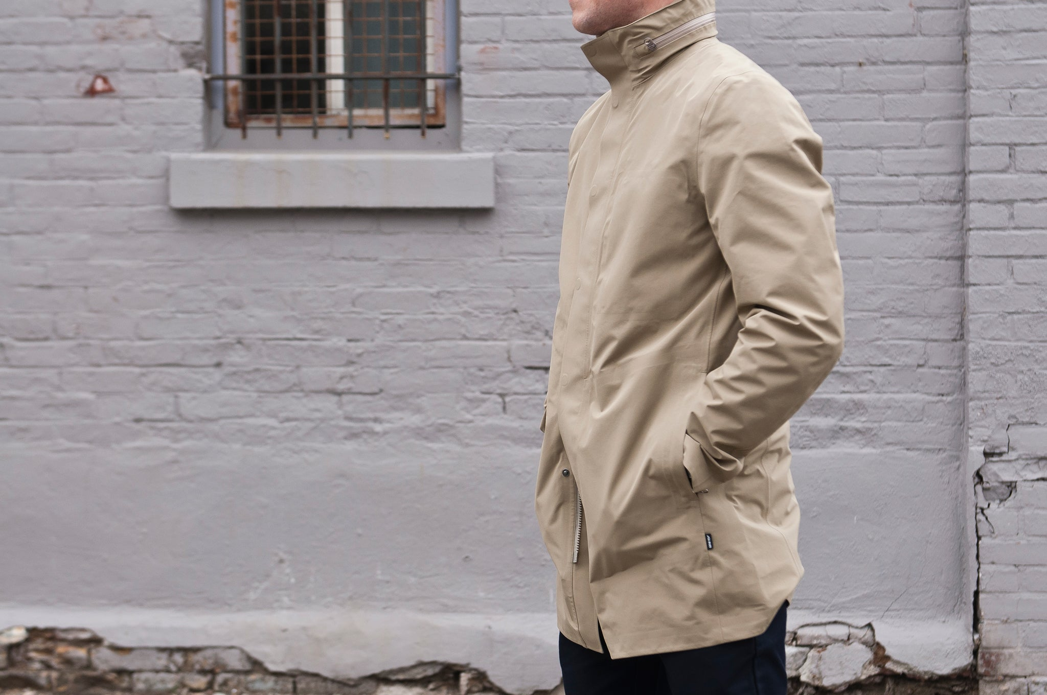 Peak Performance Parkes Coat True Beige at shoplostfound 2