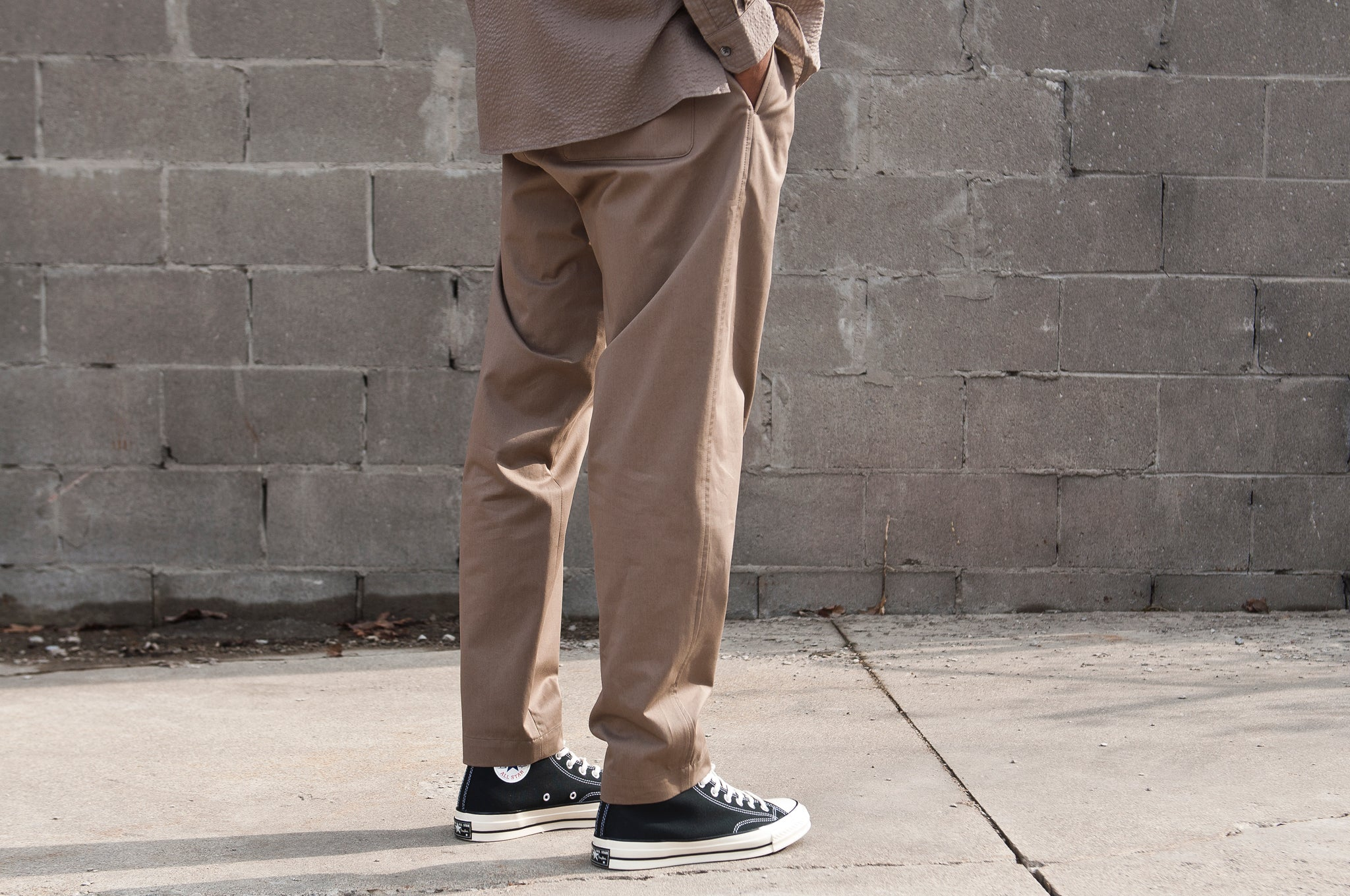 S.K. Manor Hill Coma Pant Clay at shoplostfound