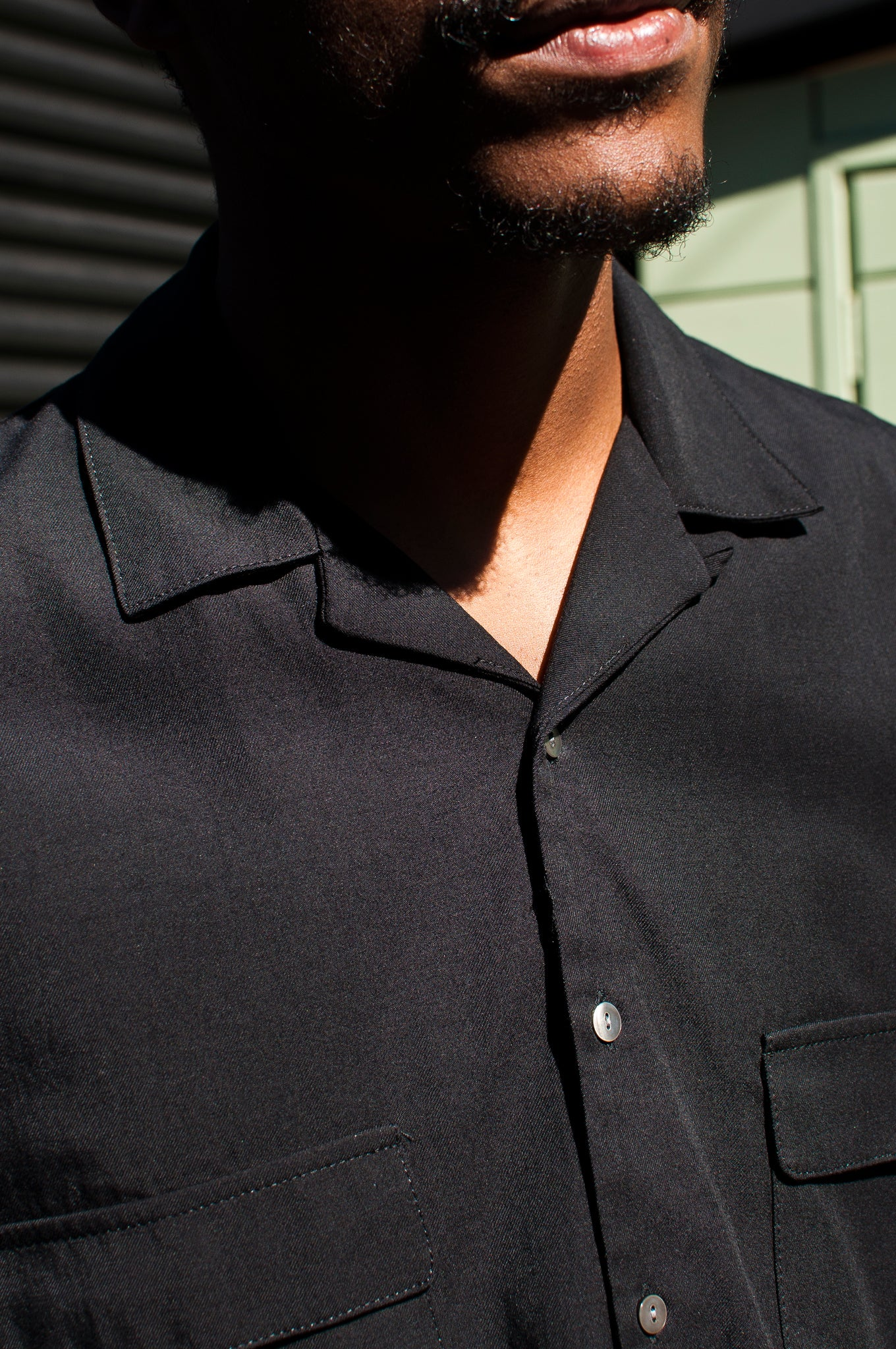 S.K. Manor Hill Earl Shirt Black at shoplostfound, 2