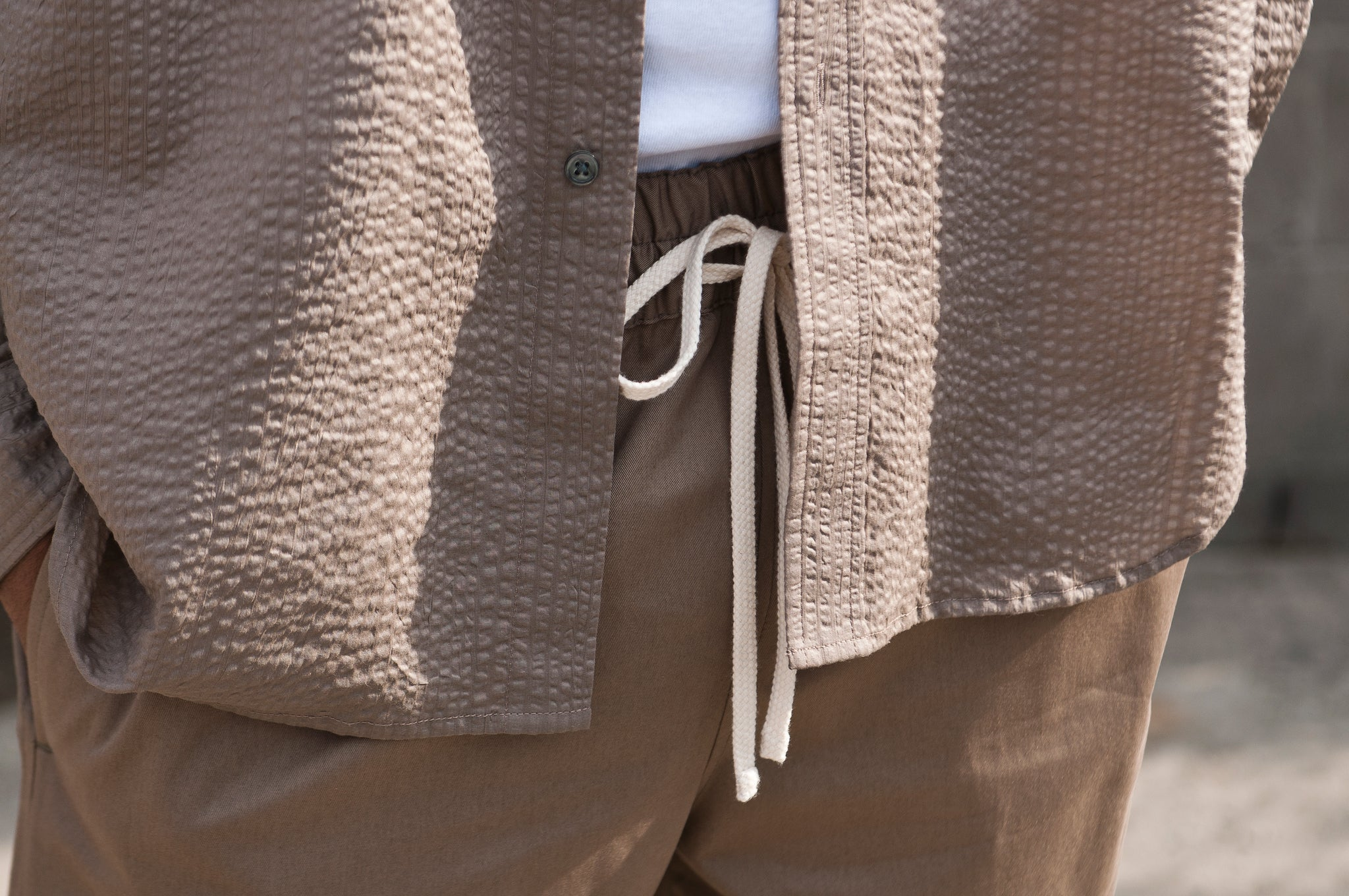 S.K. Manor Hill Egon Shirt Grey Lawn at shoplostfound 4