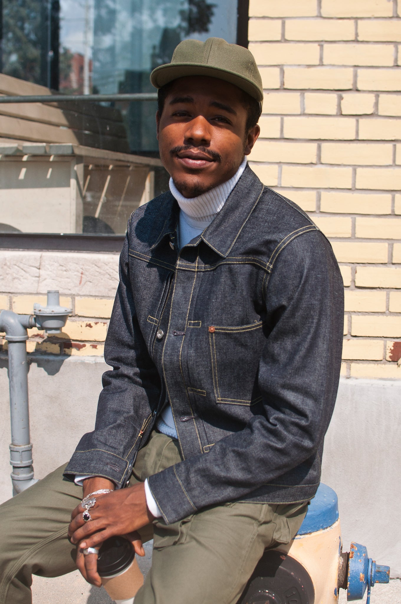 The Real McCoy's Joe McCoy LOT.S003J Denim Jacket at shoplostfound, 2