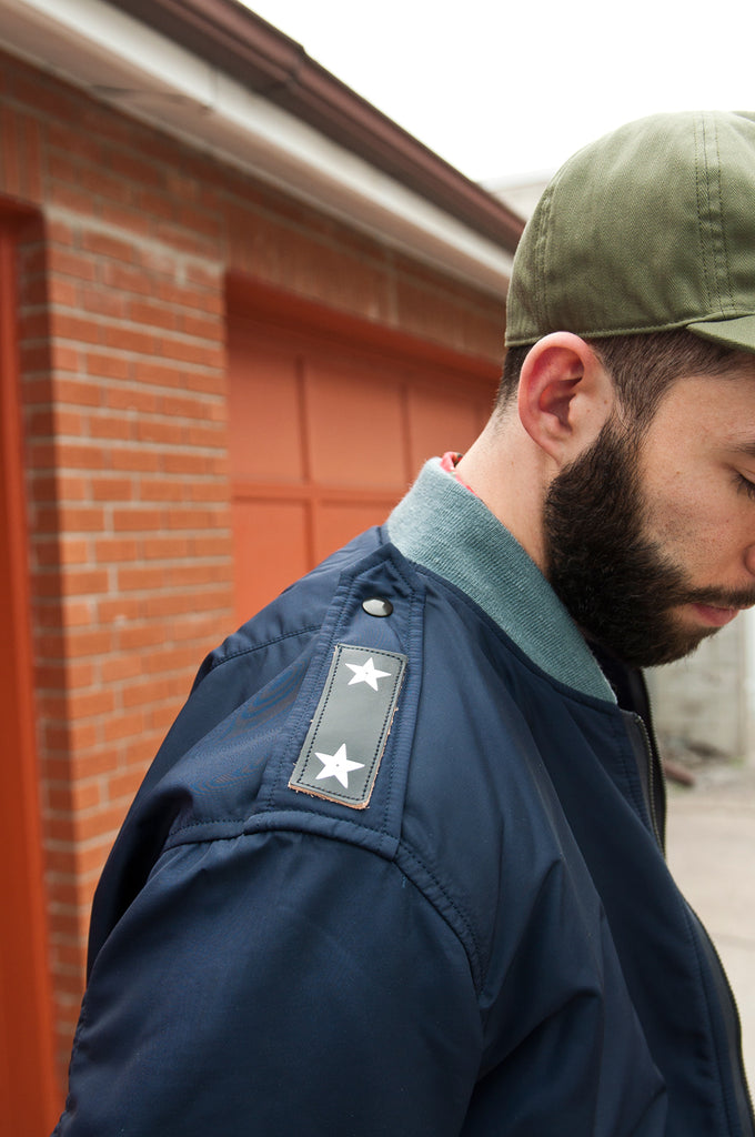 The Real McCoy's L-2A Test Sample Flight Jacket Navy at shoplostfound 5