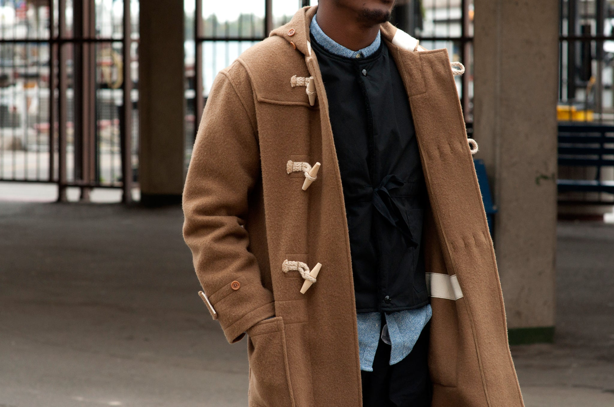 The Real McCoy's Lighthouse Duffle Coat at shoplostfound 2