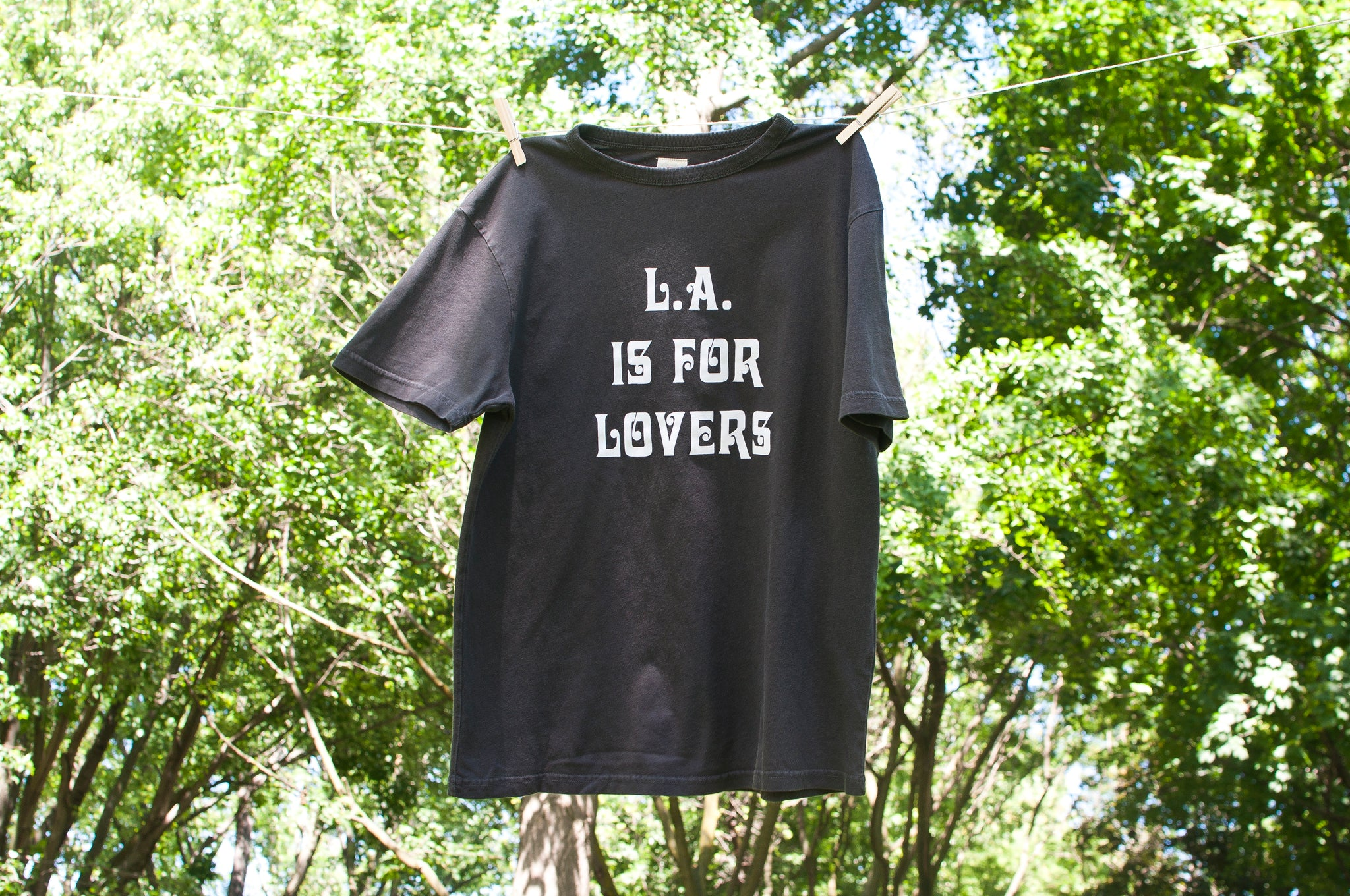 TSPTR Lovers Tee Pigment Black at shoplostfound