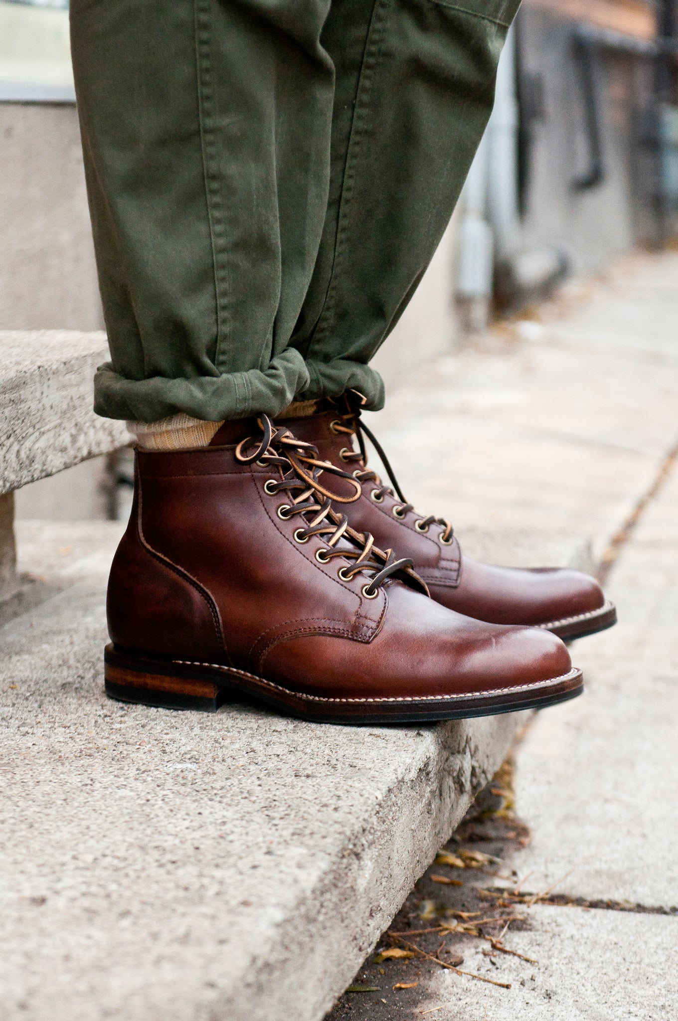 Viberg Chromexcel Service Boot at shoplostfound 6
