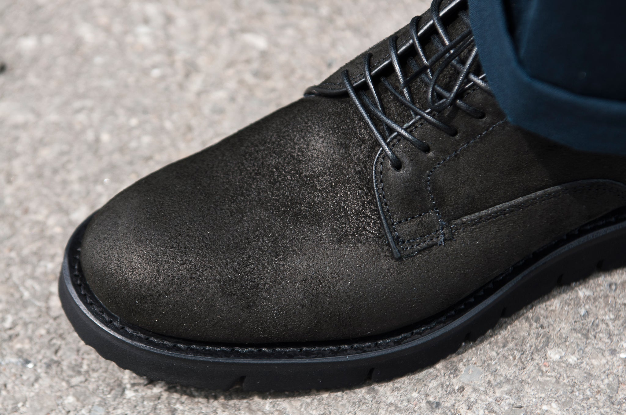 Viberg Reverse Black Camel Derby at shoplostfound 4