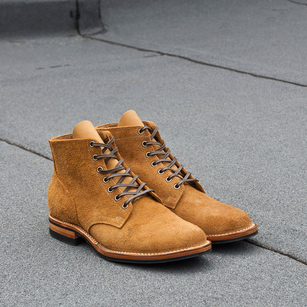 Viberg Sand Nubuck Roughout Service Boot at shoplostfound Preview