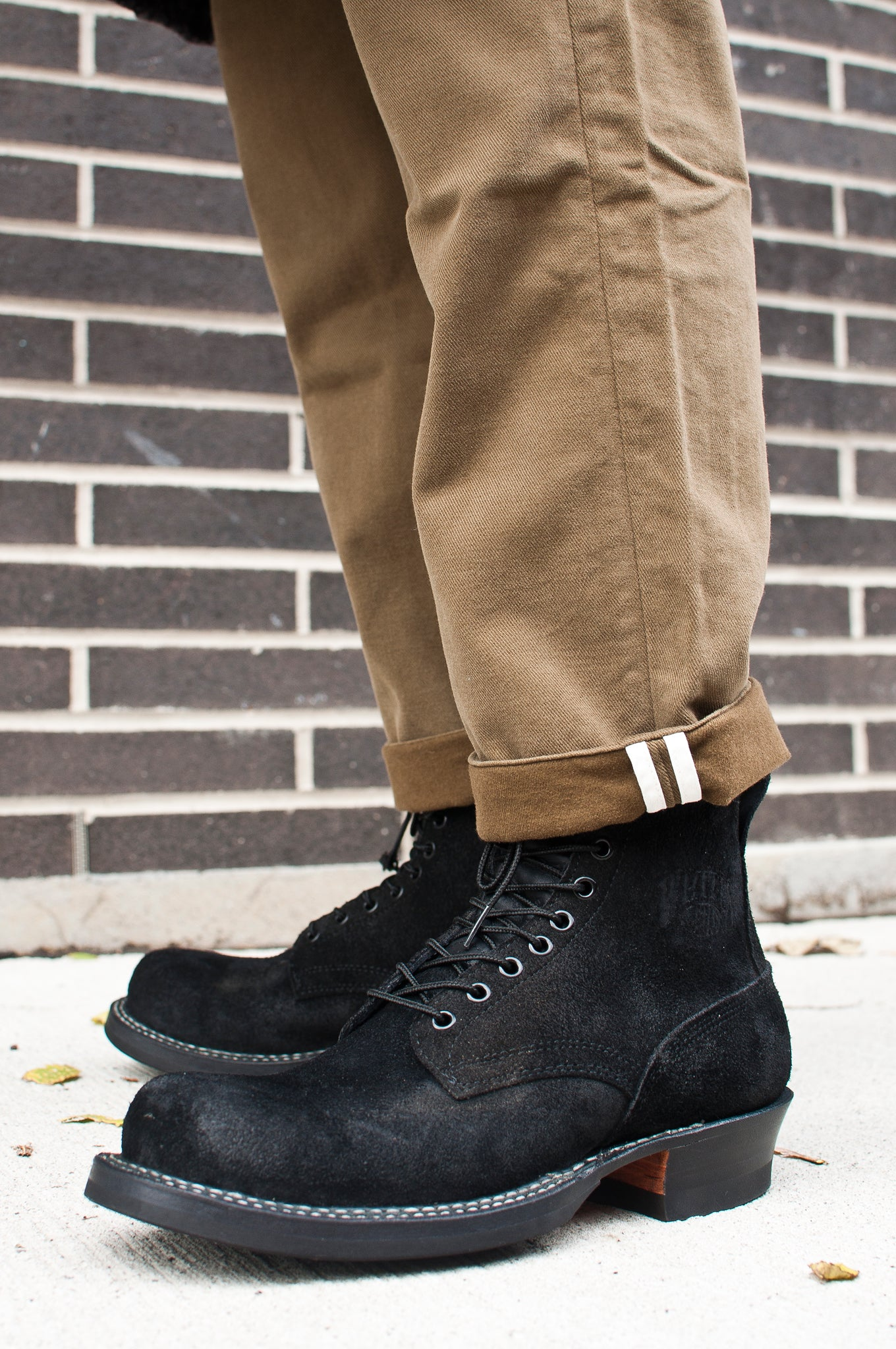 White's Smoke Jumper Oiled Black Roughout at shoplostfound 2