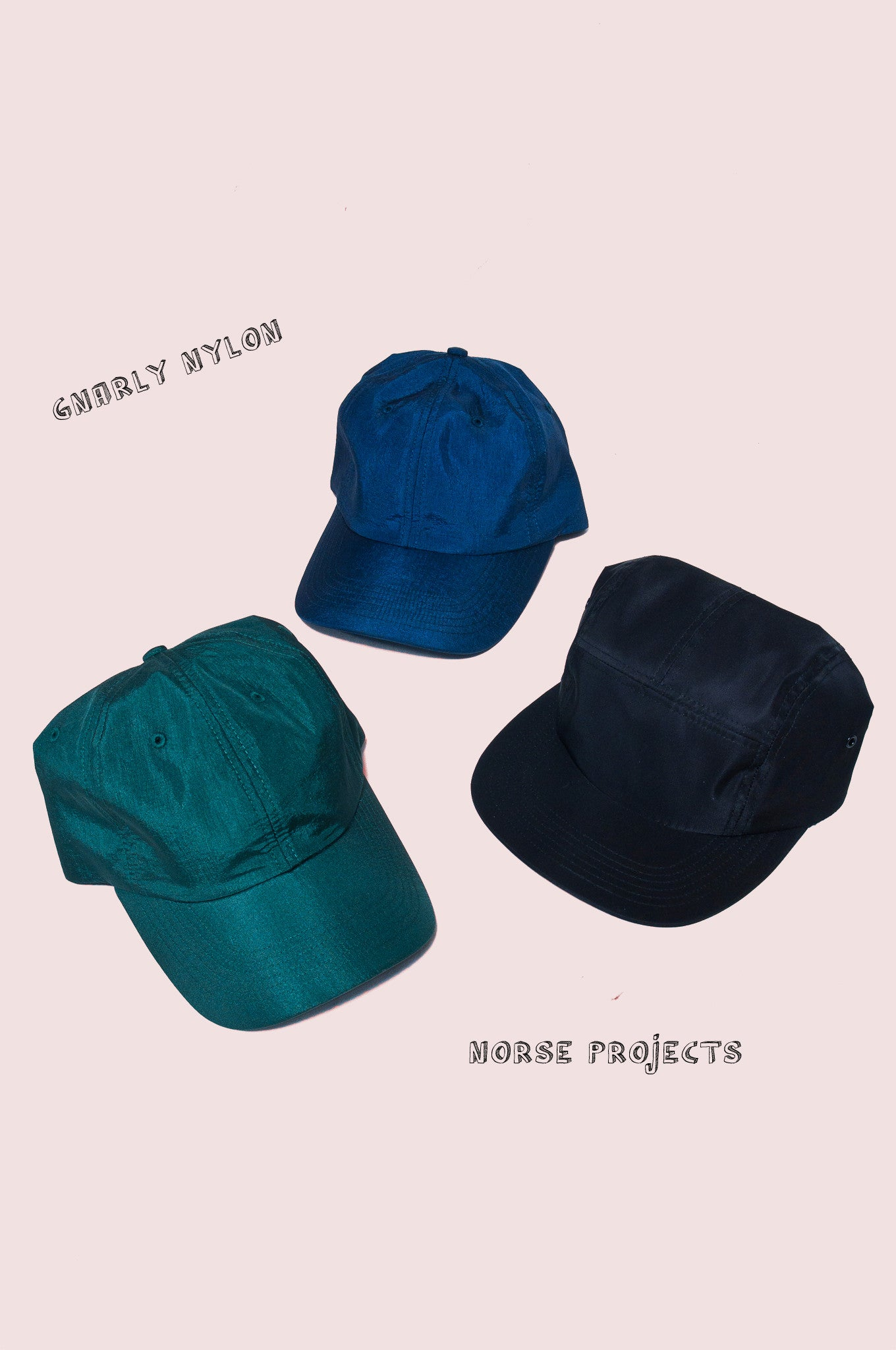 Norse Projects Nylon Hats at shoplostfound