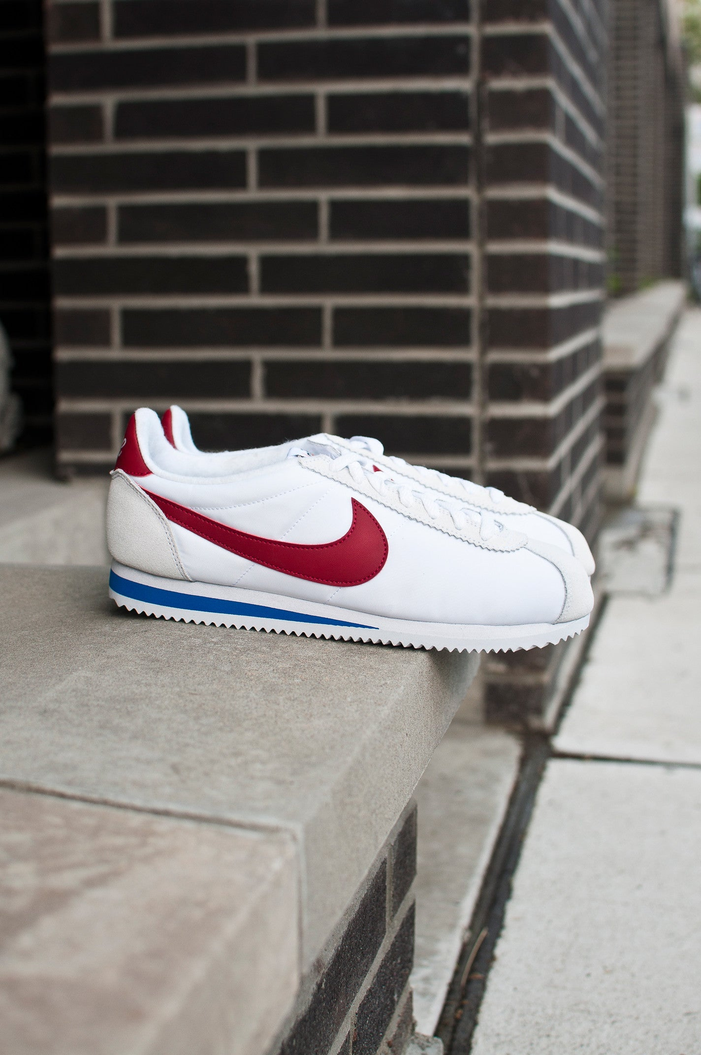 Nike Air Classic Cortez Premium White/Red/Royal 876873-101, 1