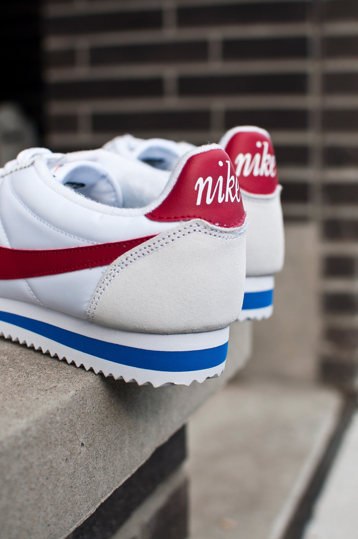 Nike Air Classic Cortez Premium White/Red/Royal 876873-101, 4