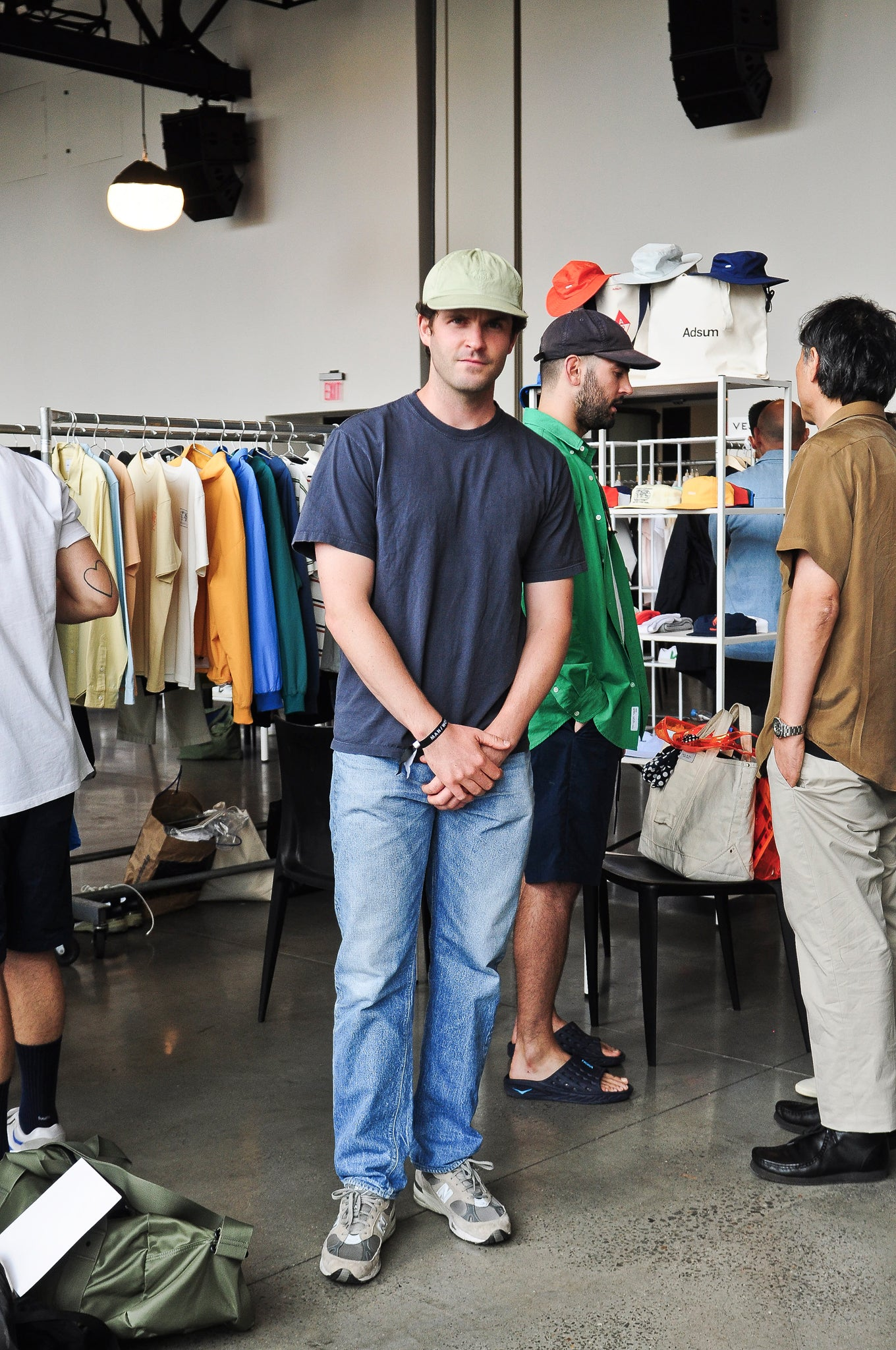 Pete Adsum Interview NYC at shoplostfound 2