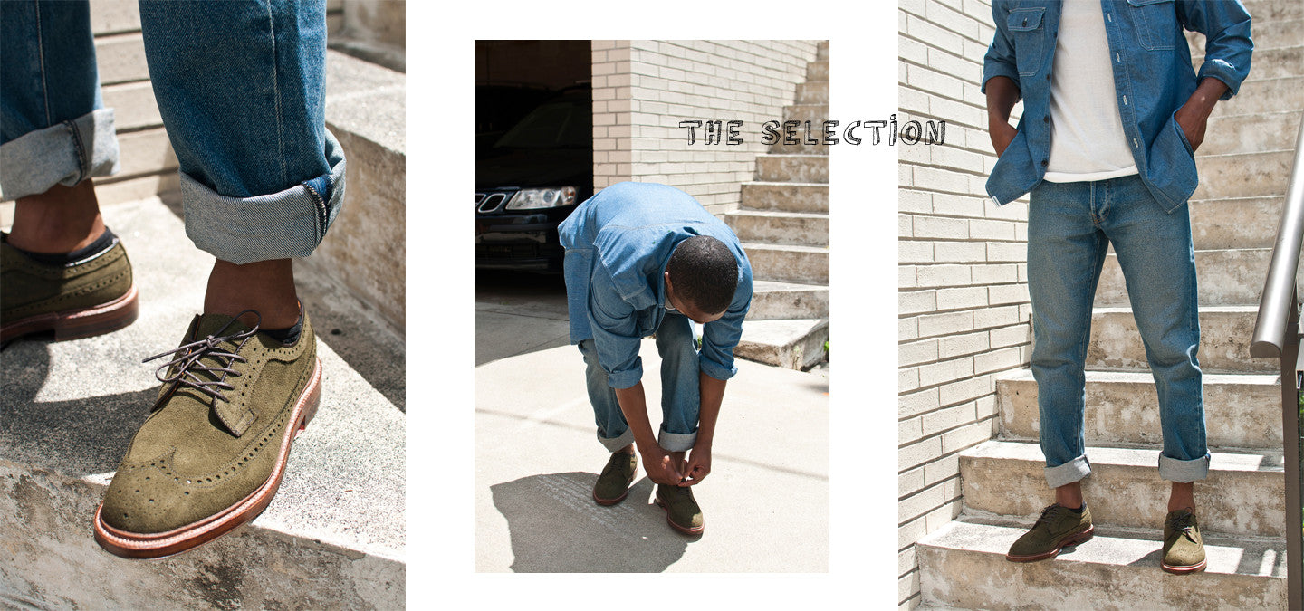 The Selection No. 041 featuring Sassafras, Merz B. Schwanen, Stüssy, and Alden