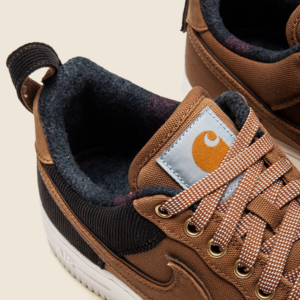 Nike Air Force 1 '07 x Carhartt WIP at shoplostfound Preview