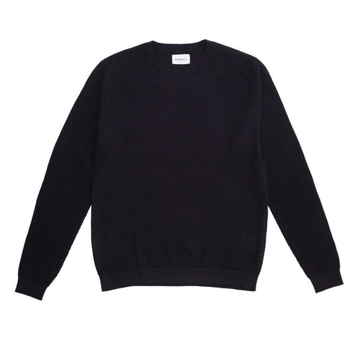 Norse Projects Sigfred Light Bubble Sweater Dark Navy
