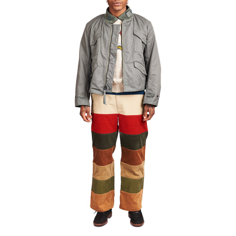 The Real McCoy's MP21011 Multicolour Corduroy Hunting Trousers Tricolour