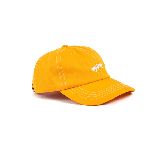 Vans Vault OG Curved Bill Jockey Hat Bright Marigold