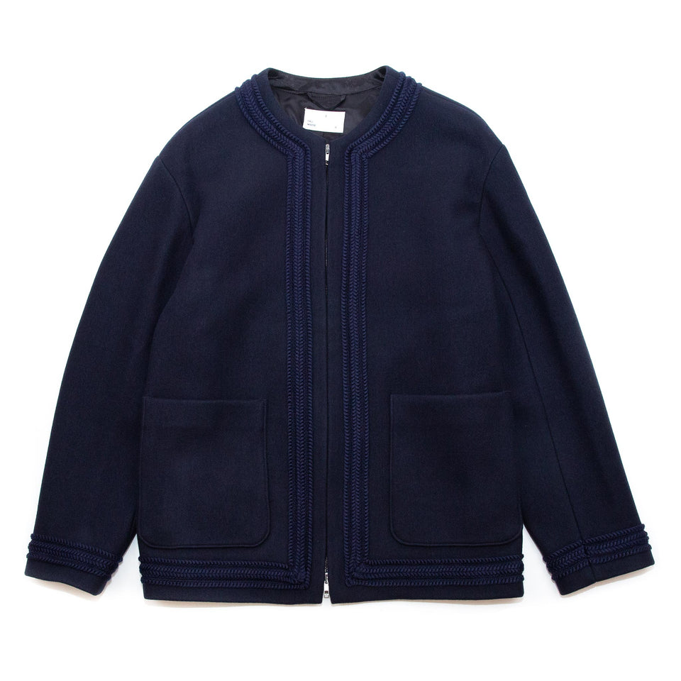 4S Designs Cardigan Coat Navy