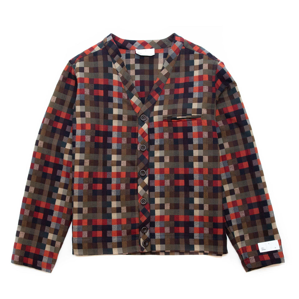 4S Designs Cardigan Shirt Red