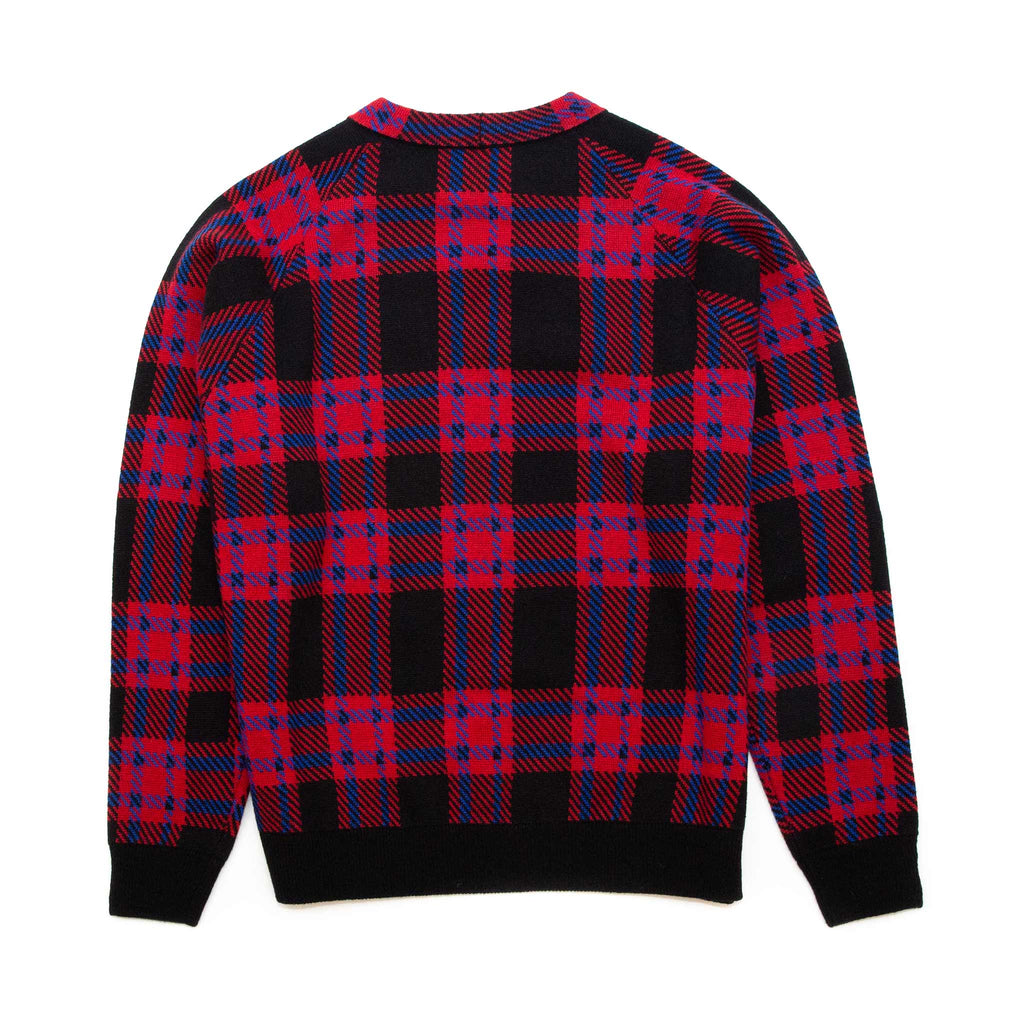 4S Designs Wool Knit Sweater Red