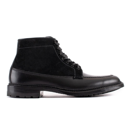 Alden Black Michigan Boot With Commando Sole