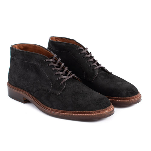 Alden Six Eye Chukka Boot Reverse Earth Chamois