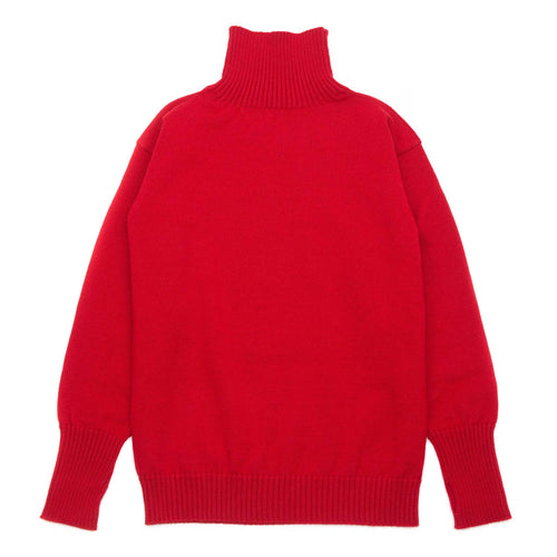 Andersen-Andersen Seaman Turtleneck Red
