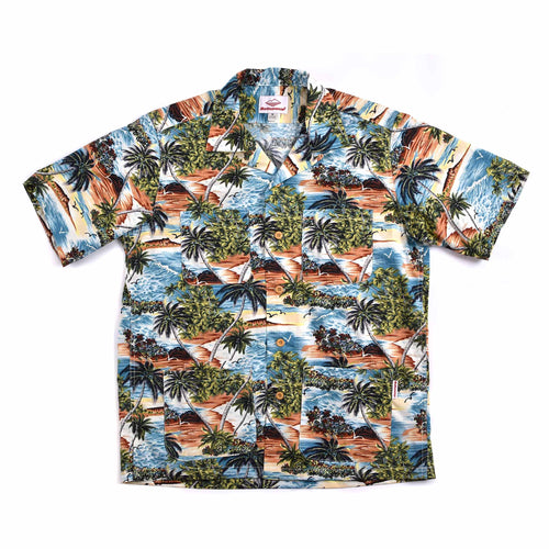 Battenwear Five Pocket Island Shirt Island Print