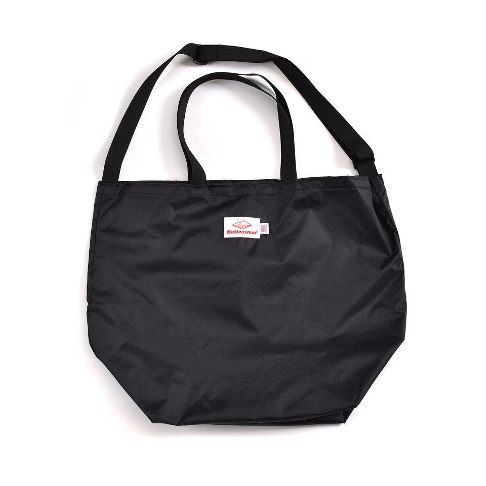 Battenwear Packable Tote Black/Black