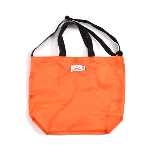 Battenwear Packable Tote Orange/Black