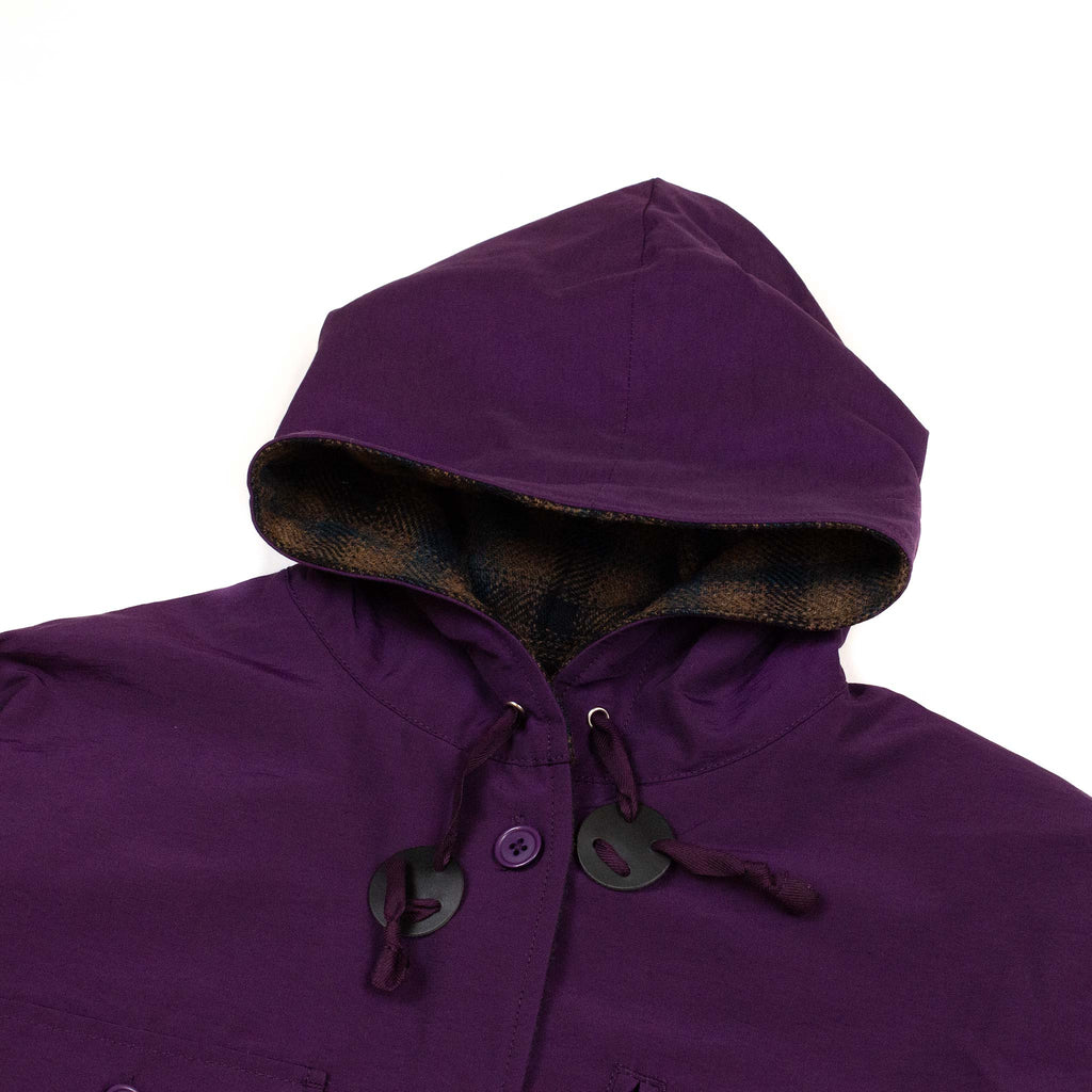 Beams-Plus-Hooded-CPO-Reversible-Small-Check--Hood