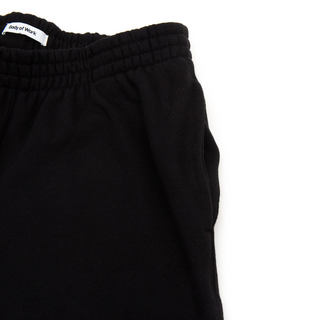Body of Work Studio Sweatpants Black Top