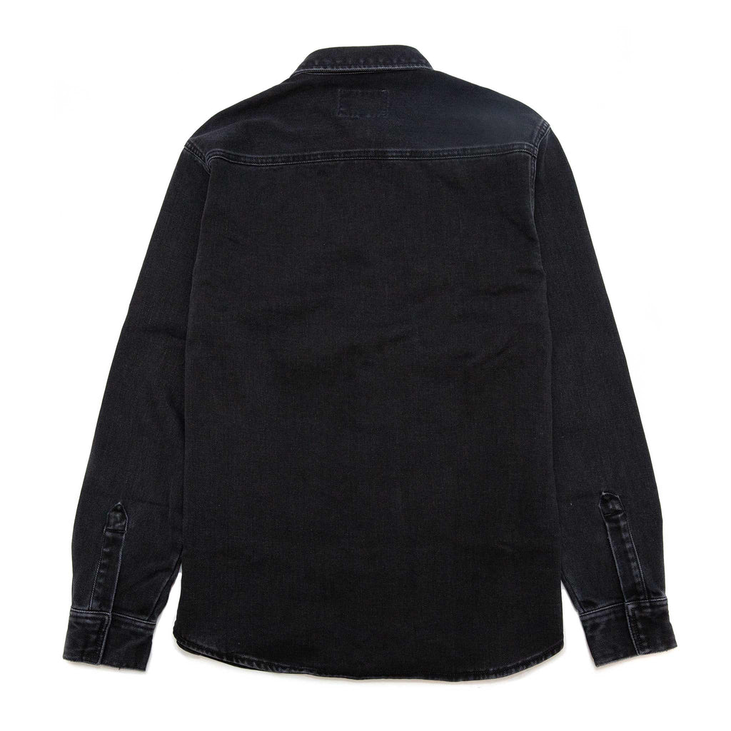 Carhartt W.I.P. Salinac Shirt Jacket Black Stone Washed