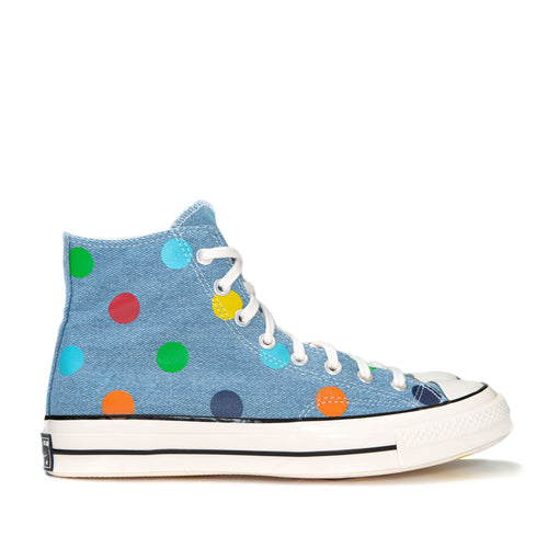 Converse x GOLF WANG CT 1970s Hi Polka Dot/Blue