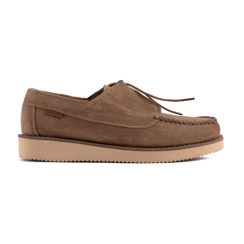 Engineered Garments x Sebago Coverdeck Beige Taffy/Beige Sand