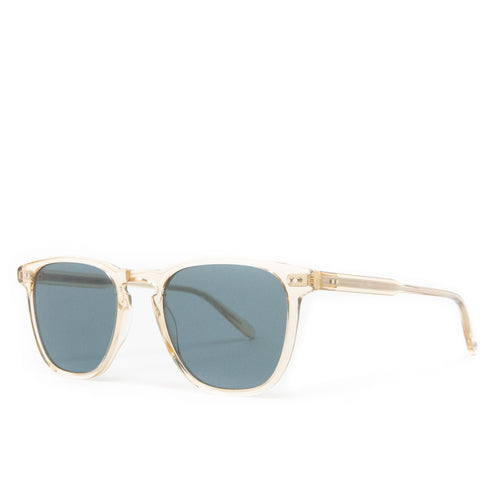 Garrett Leight Brooks Champagne/Semi-Flat Blue Smoke