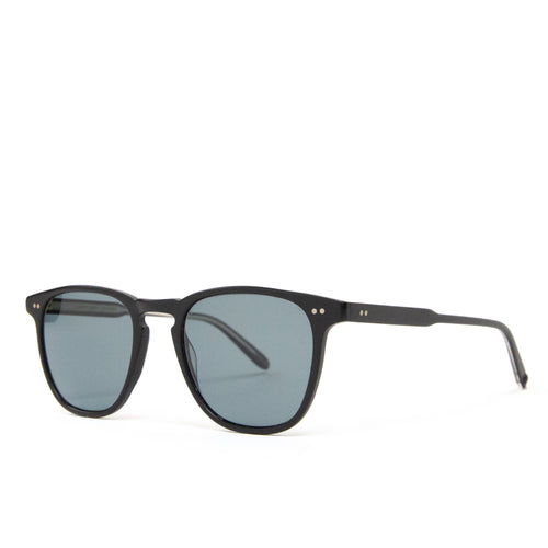 Garrett Leight Brooks Matte Black/Blue Smoke Polar
