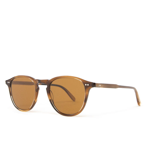 Garrett Leight Hampton Khaki Tortoise/Semi-Flat Pure Coffee