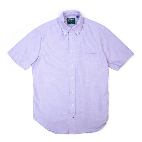 Gitman Vintage Bros. Short Sleeve Purple Oxford