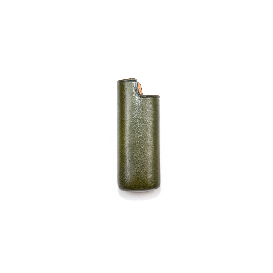 Il Bussetto Bic Mini Lighter Case Dark Green