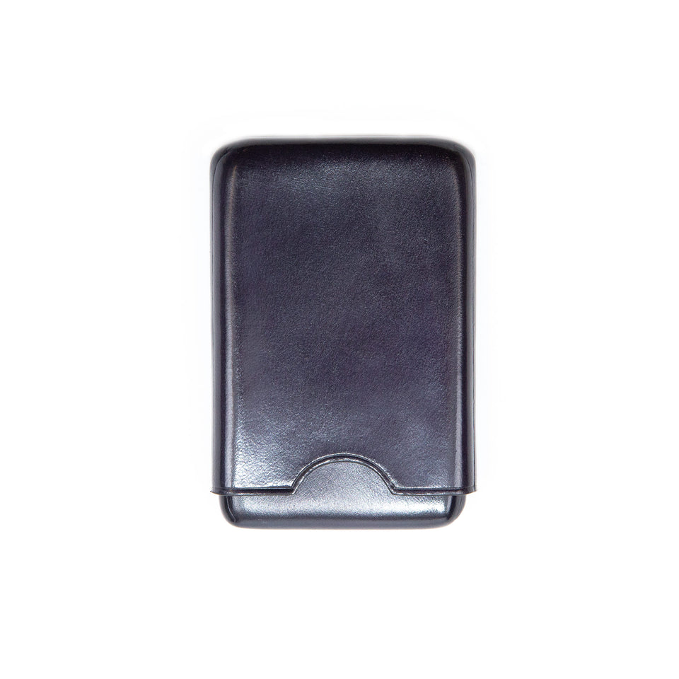 Il Bussetto Box Card Holder Navy Blue
