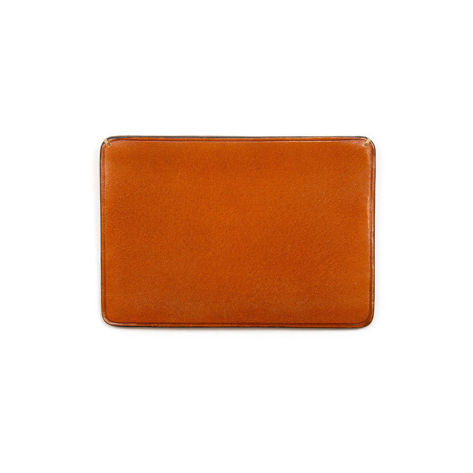 Il Bussetto Card Holder with Sliding Flap Bisquit