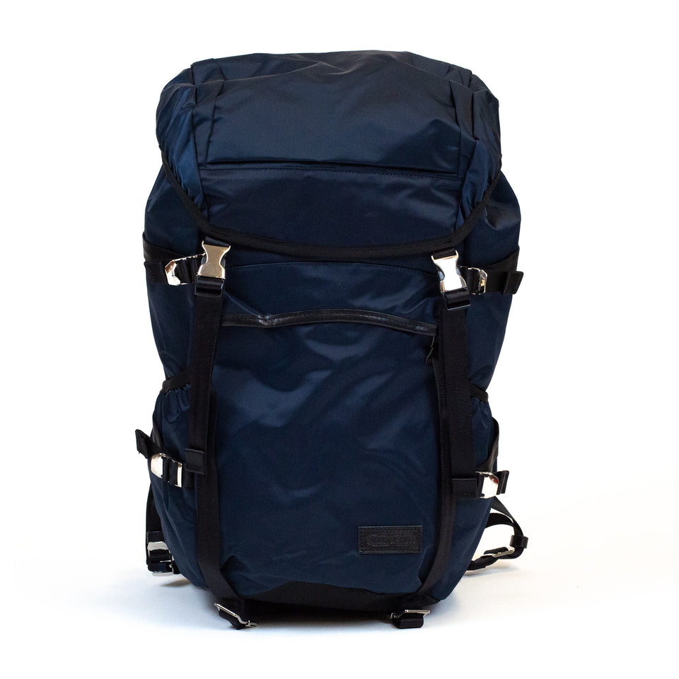 master-piece Lightning Backpack Navy front