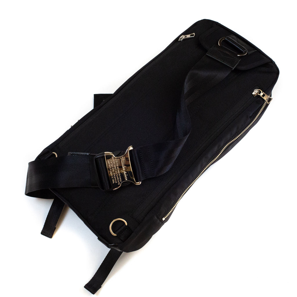 master-piece Lightning Shoulder Bag Black detal